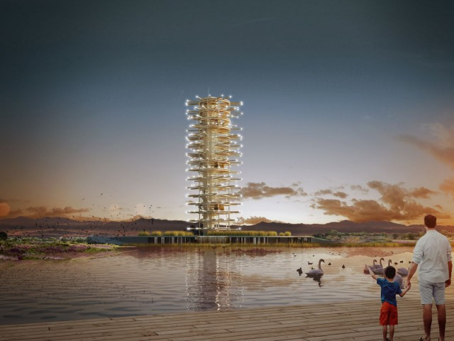 Antalya Expo Tower – 1+1 Mimarlık